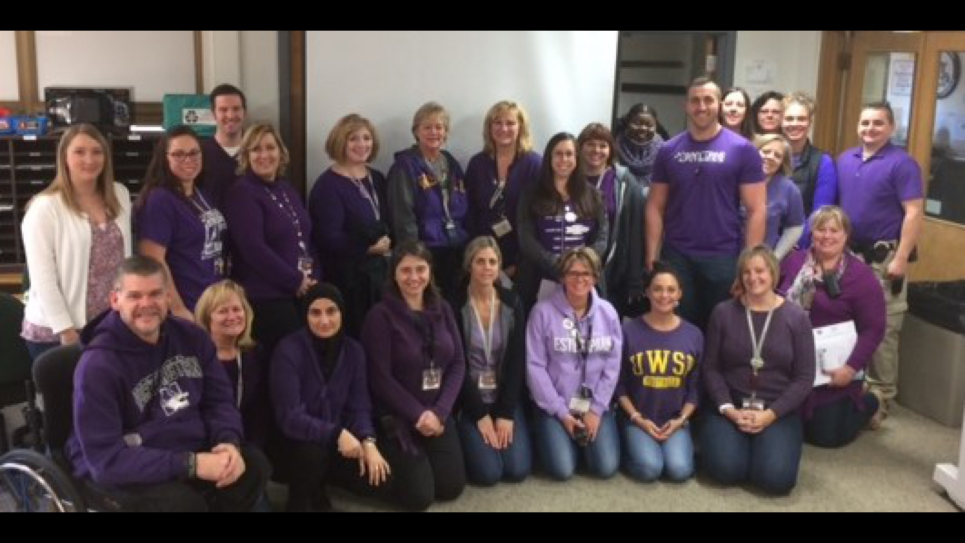 slidshow image - Pancreatic Cancer Awareness Day - Purple Pride